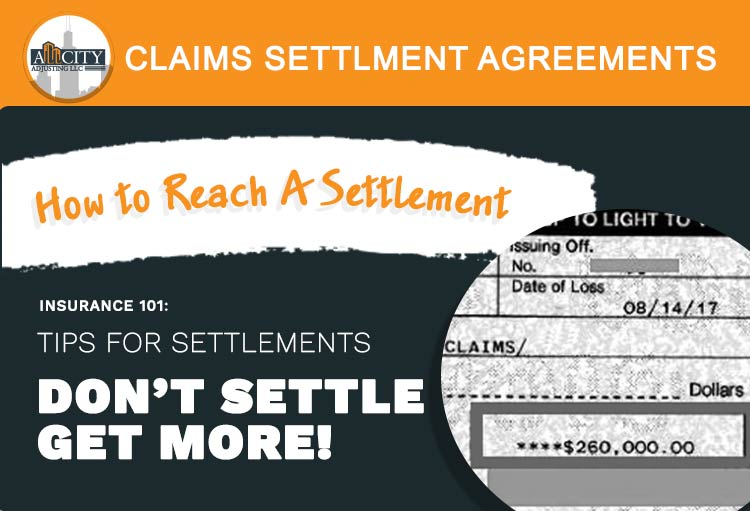 Claims settlement process video image
