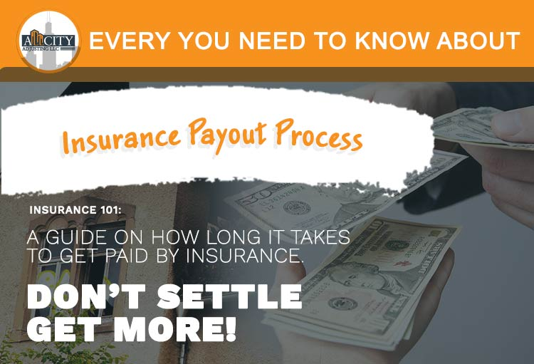 Insurance payout process guide video and social image