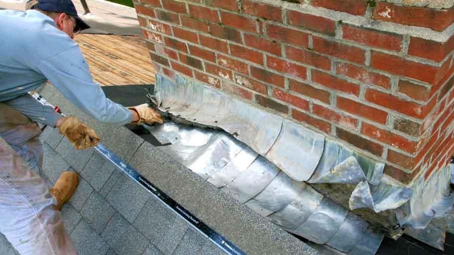 Roof Damage Flashing