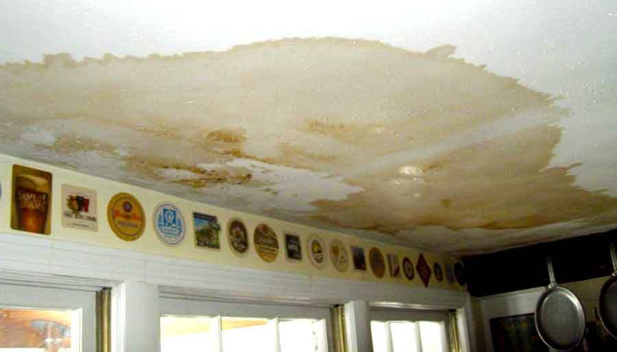 Roof Damage Water