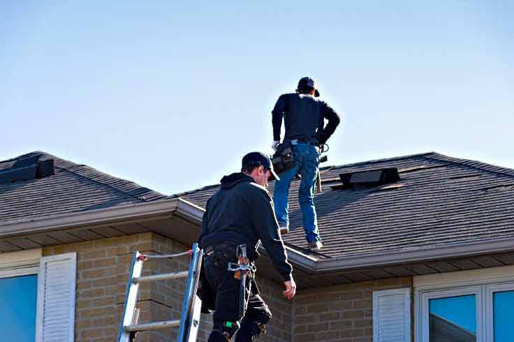 Roof inspection Inspectors