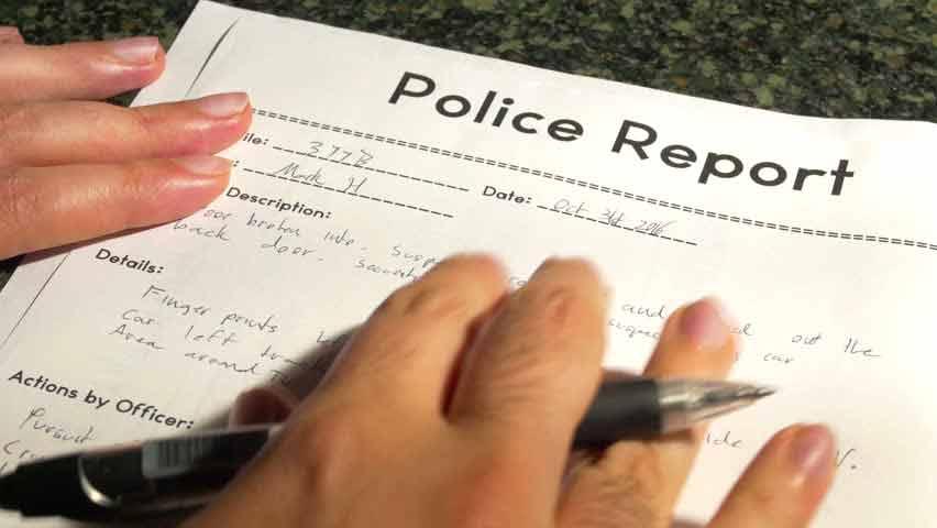Vandalism Insurance Claim Police Report