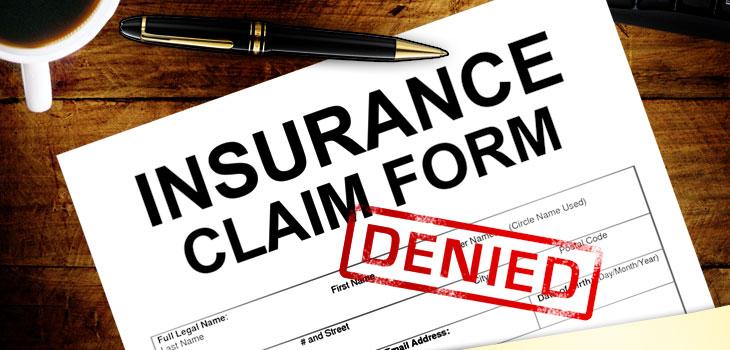 Condodminium insurance claim denoed