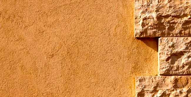 Stucco Damage Wall