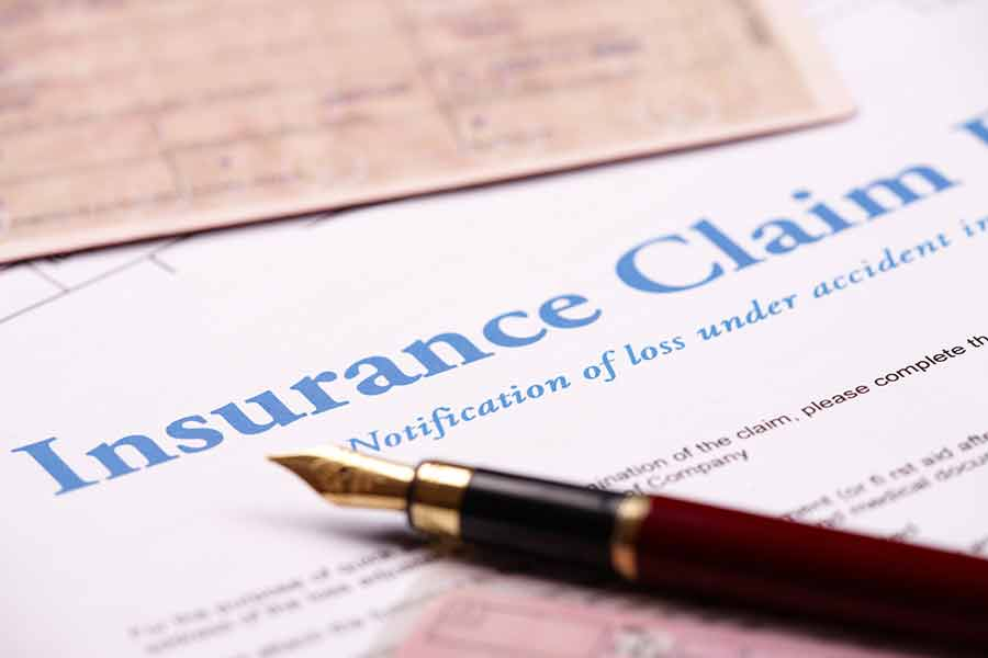 Fire Claim Settlement Insurance Form