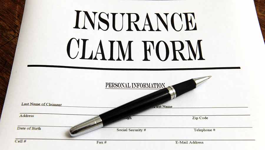 Homeowners Insurance Claim Tips Claim Forms