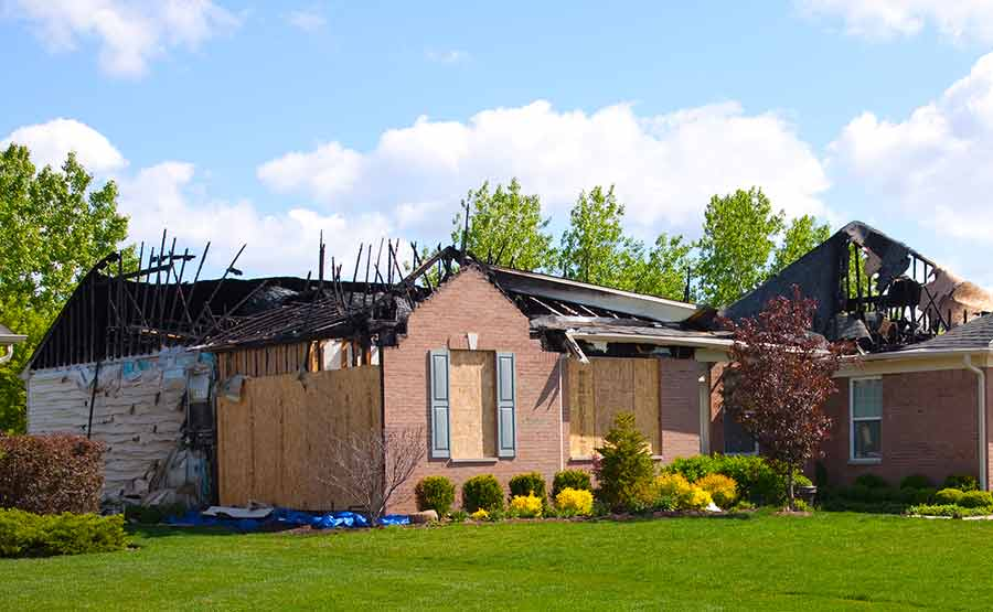 Most Common Home Insurance Claims Damaged Home